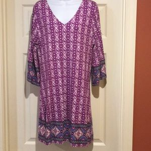 Jewel tone knit dress NWT stitch fix Large